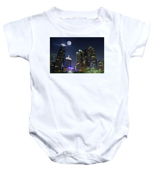 Windy City Baby Onesie by Frozen in Time Fine Art Photography