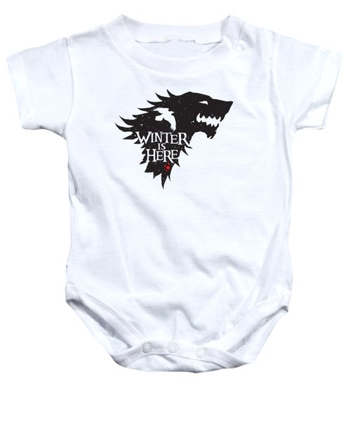 Winter Is Here Baby Onesie