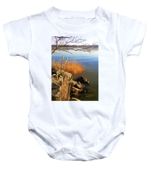 Winter Water Baby Onesie