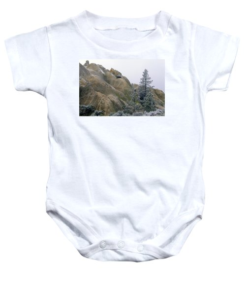 Winter Wind Baby Onesie
