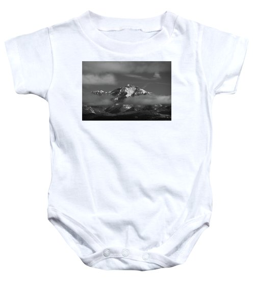 Winter's Window Baby Onesie