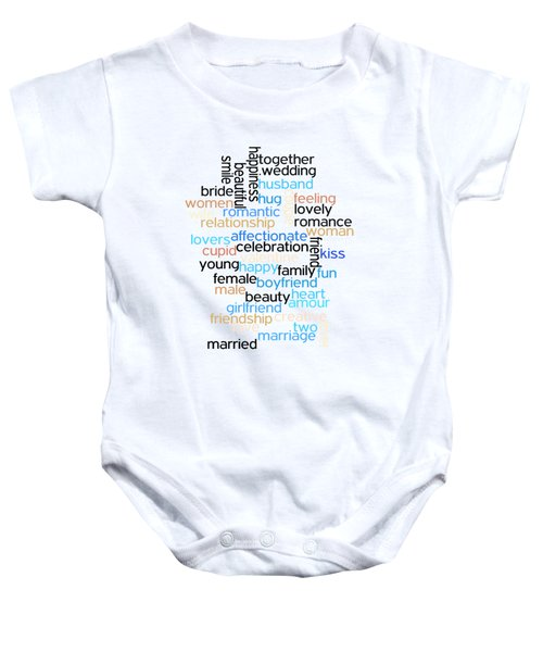 Words Of Love Baby Onesie