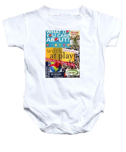 Work At Play Baby Onesie