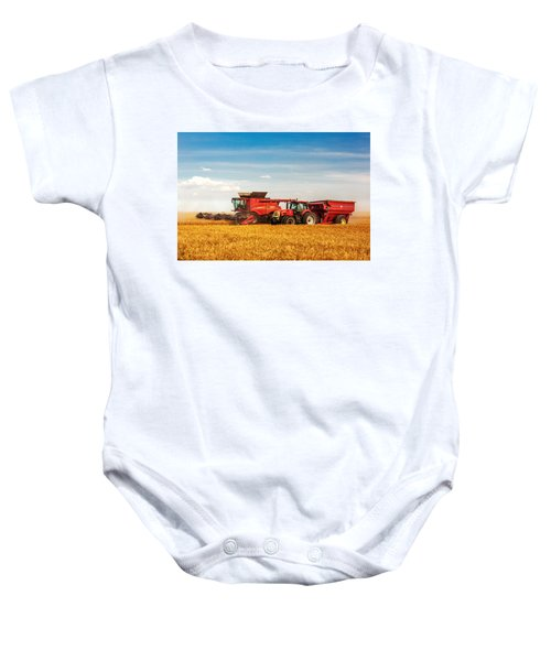 Working Side-by-side Baby Onesie