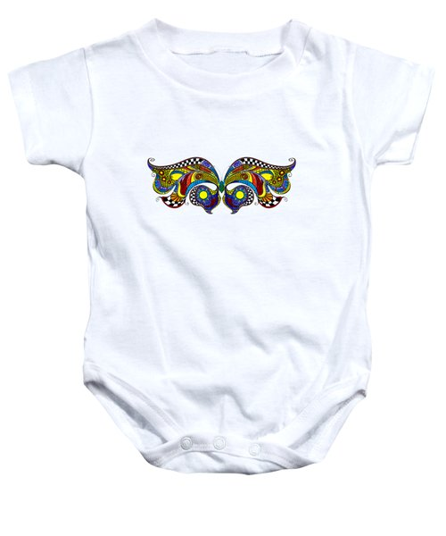 Chrysalis Baby Onesie by Dar Freeland
