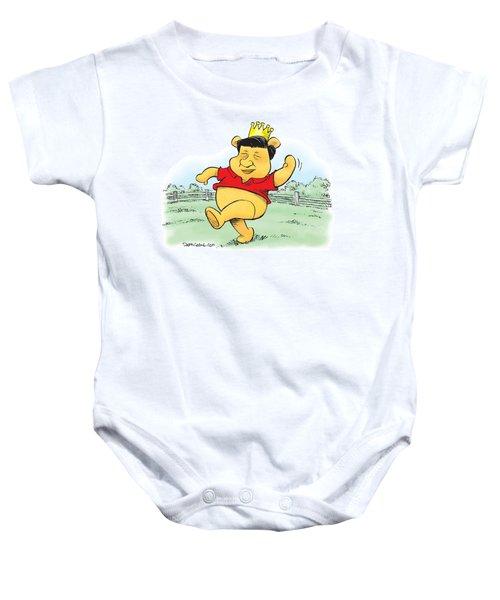Xi The Pooh Baby Onesie