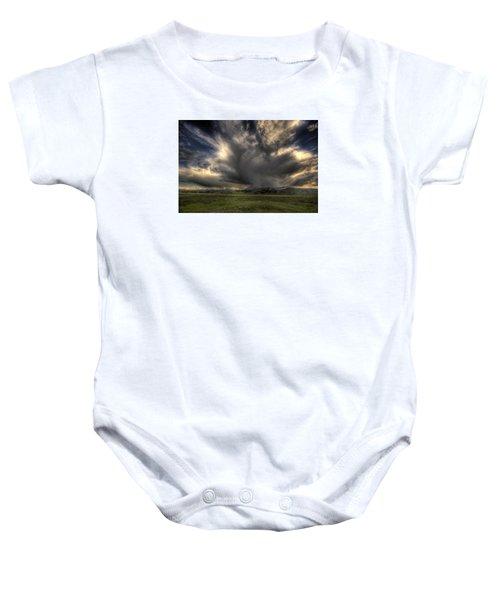 Yellowstone Storm Baby Onesie