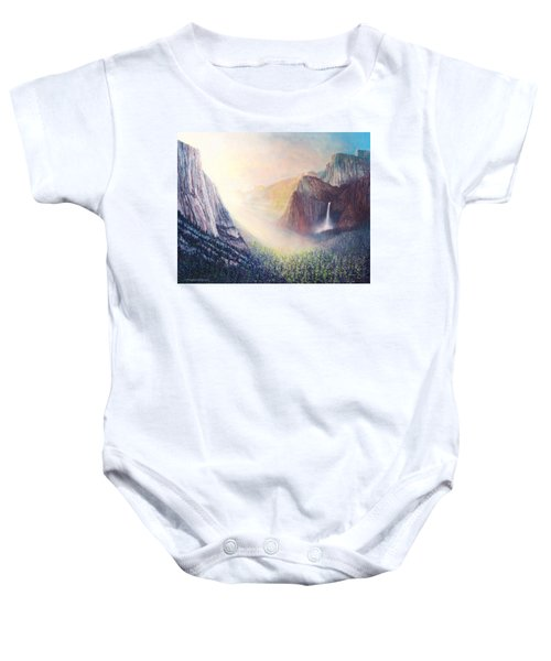 Yosemite Morning Baby Onesie