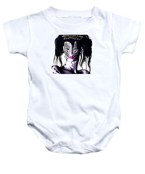 Zeeebra Baby Onesie