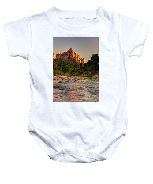 Zion Sunet Baby Onesie