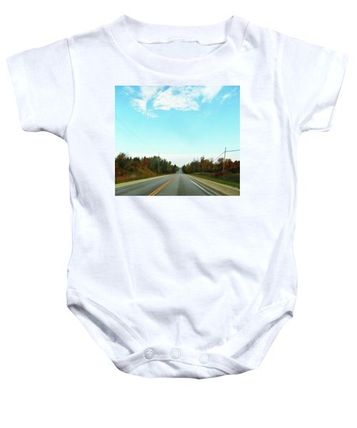 Collingwood In The Distance Baby Onesie