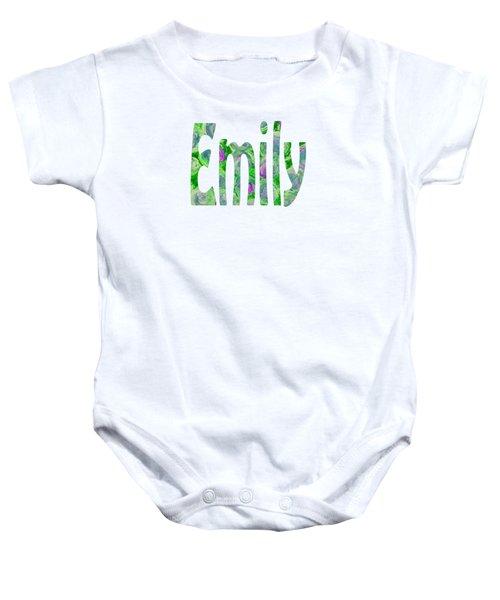 Emily Baby Onesie