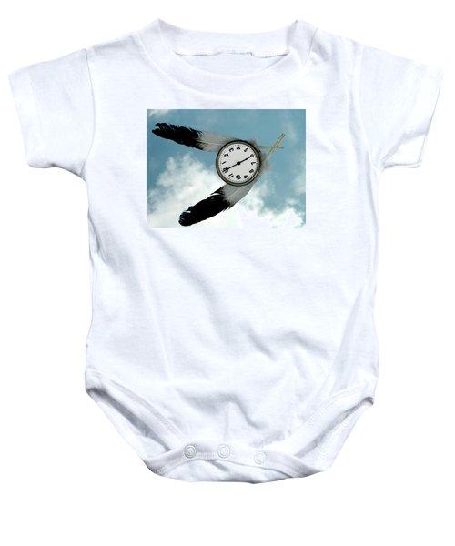 How Time Flies Baby Onesie