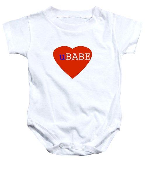 Love U Babe Baby Onesie