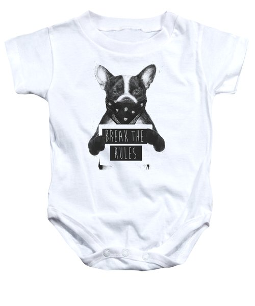Rebel Dog II Baby Onesie
