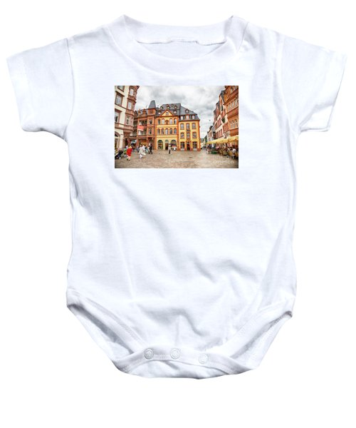 Trier, Germany,  People By Market Day Baby Onesie