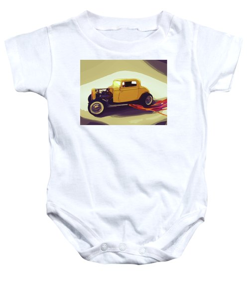 1932 Ford Coupe Baby Onesie