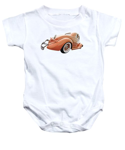 1935 Ford Coupe In Bronze Baby Onesie