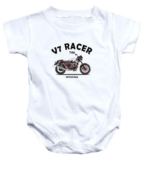 Moto Guzzi V7 Racer Baby Onesie