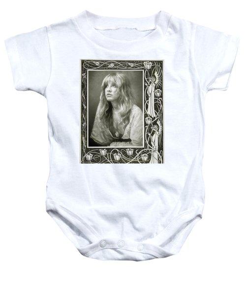 cb5c2b75f Stevie Nicks Fleetwood Mac Baby Onesies   Fine Art America