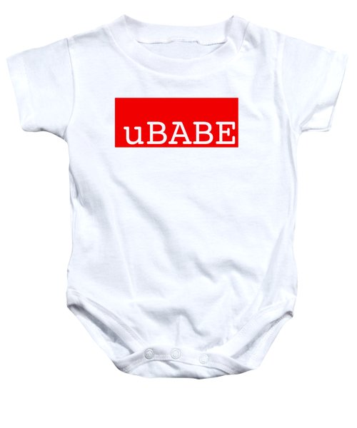 uBABE Label Baby Onesie
