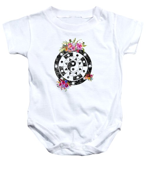 Mandala Baby Onesie