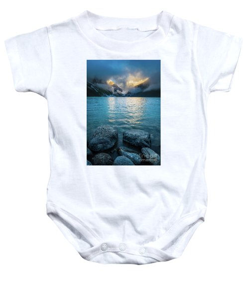 A Break In The Clouds Baby Onesie