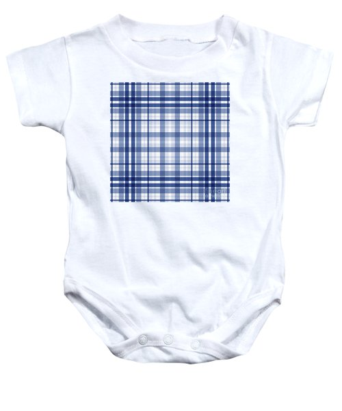 Abstract Squares And Lines Background - Dde611 Baby Onesie