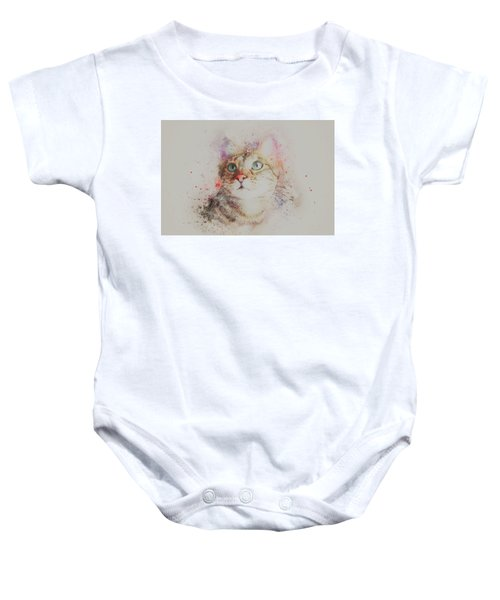 Abyssinian Cat Baby Onesie