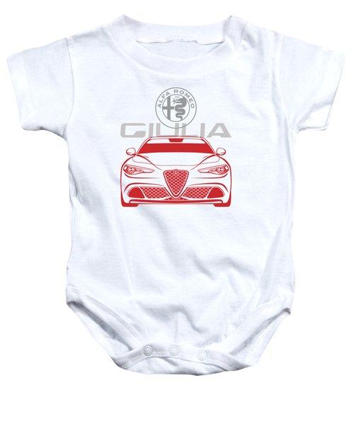 Alfa 2017 Giulia Baby Onesie