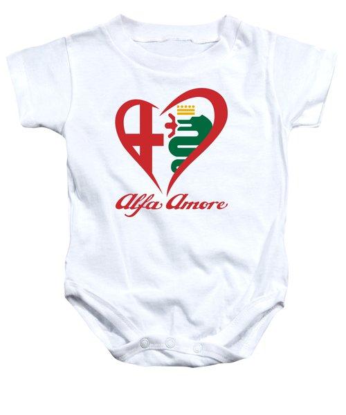 Alfa Amore Baby Onesie
