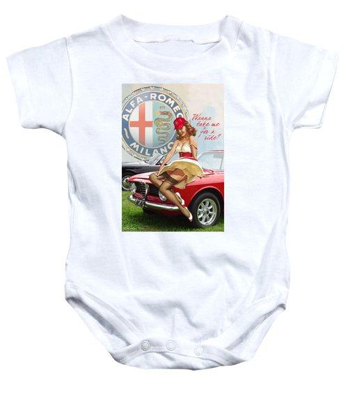 Alfa Giulia Sprint Gt Babe Baby Onesie