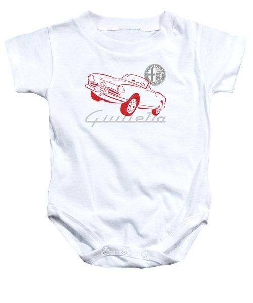 Alfa Giulietta Spider-1 Baby Onesie