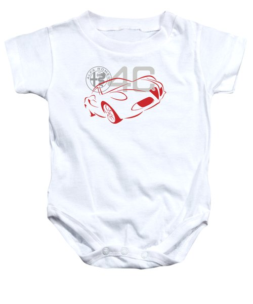 Alfa Romeo 4c-1 Baby Onesie