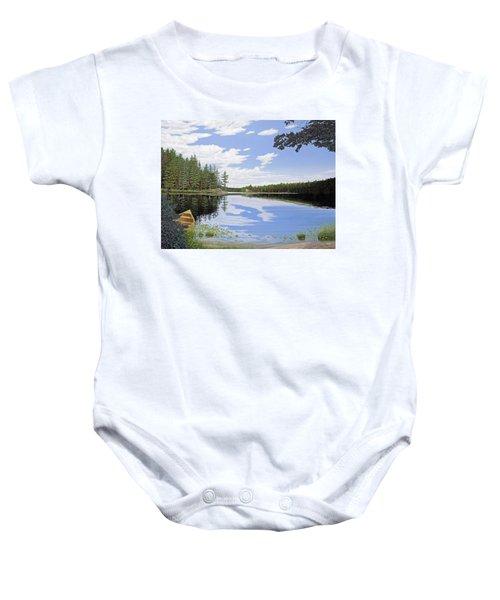 Algonquin Portage Baby Onesie