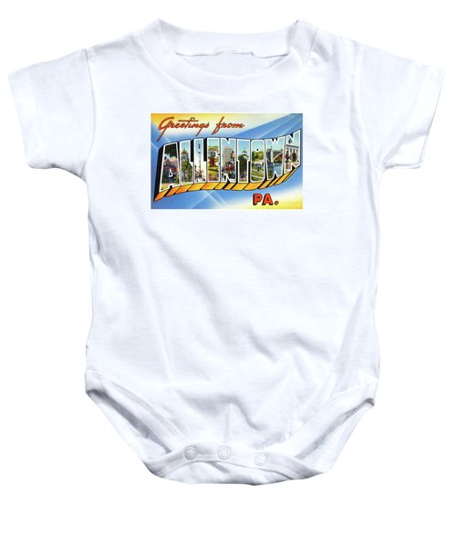 Allentown Greetings Baby Onesie