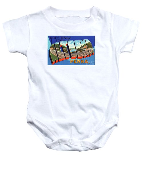 Altoona Greetings Baby Onesie