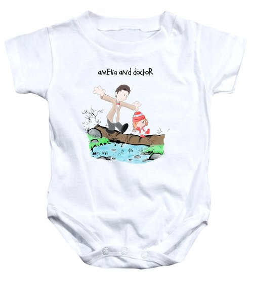 Amelia And Doctor Baby Onesie
