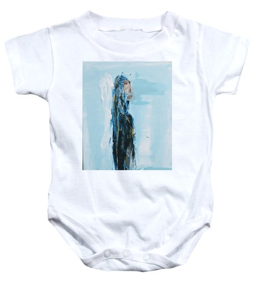 Angel With Child Baby Onesie