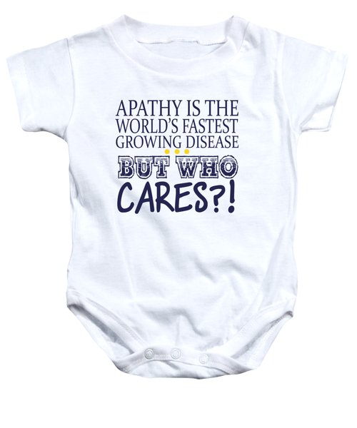 Apathy Baby Onesie