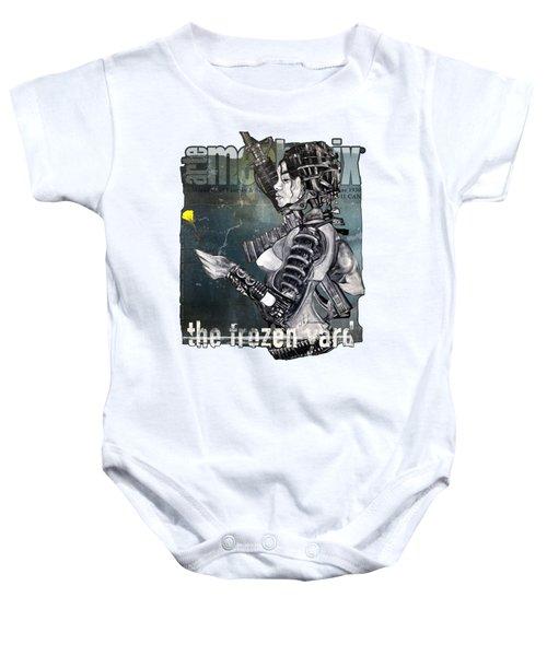 arteMECHANIX 1930 The FROZEN YARD GRUNGE Baby Onesie