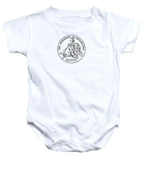 Athenaeum Of Philadelphia Logo Baby Onesie