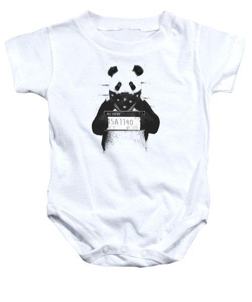 Bad Panda Baby Onesie