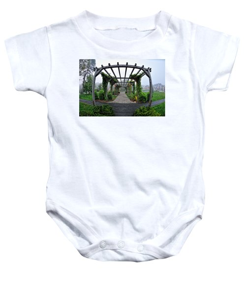 Bar Harbor Pergola Baby Onesie