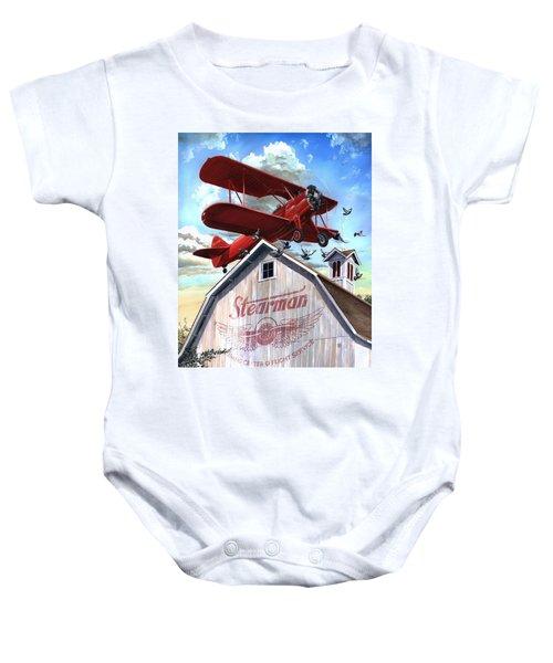 Barn Stormer - Customizeable Baby Onesie