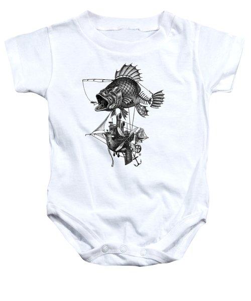 Bass Airship Baby Onesie