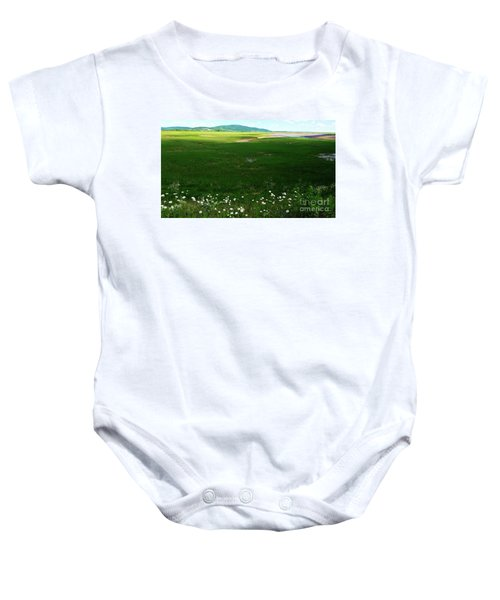 Bay Of Fundy Landscape Baby Onesie