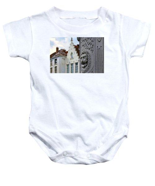Belgian Coat Of Arms Baby Onesie