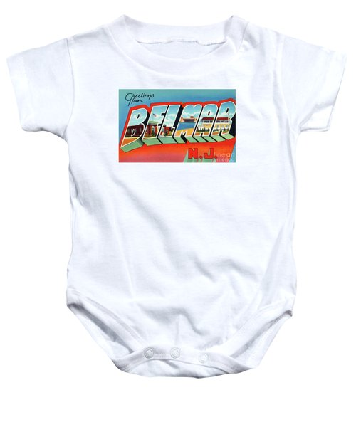Belmar Greetings Baby Onesie