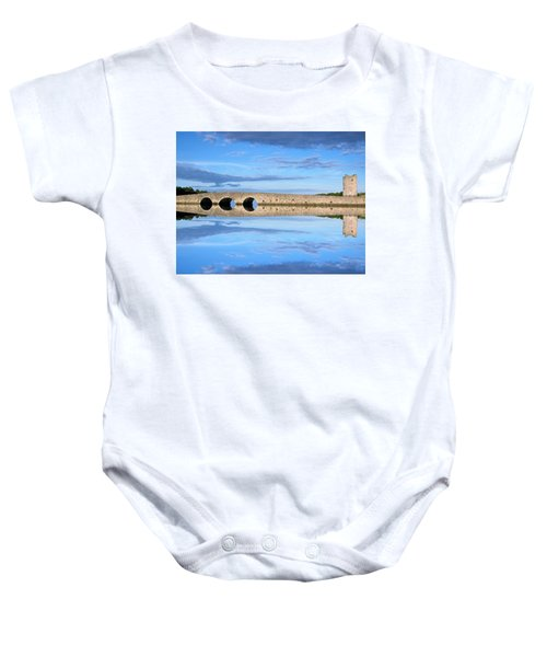 Belvelly Castle Reflection Baby Onesie